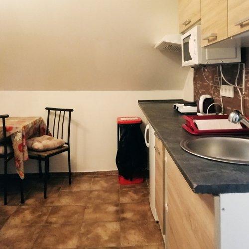 kuchyň k pokoji č. 7 (v podkroví)